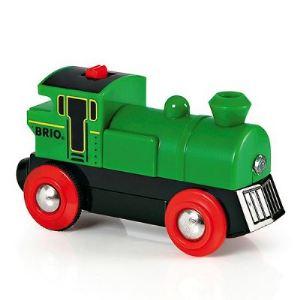 Brio Locomotive à pile Speedy Green