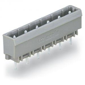 Wago 231-265/001 - Embase 5 pôles gris pas 7,5 mm enfichage vertical au circuit imprimé emballage industriel de 100 pc(s)