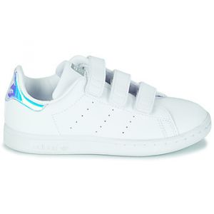 Adidas Chaussures enfant STAN SMITH CF C - Couleur 28,29,30,31,32,33,34,35,30 1/2,28 1/2 - Taille Blanc