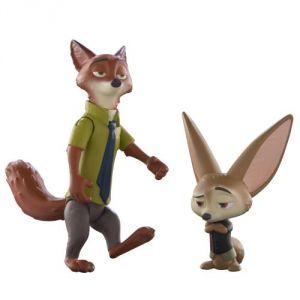 Tomy Figurines Nick et Finnick Zootopie