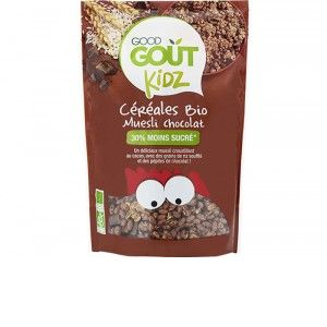Good Goût Céréales Muesli Chocolat Bio Dès 3 Ans 300 g - Lot de 3