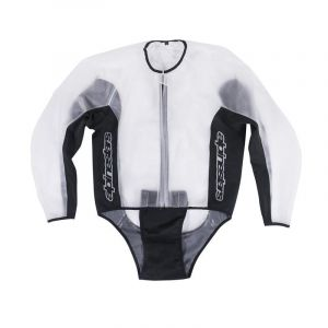 Alpinestars Veste imperméable Racing Rain transparent/noir - XXL