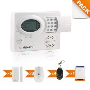 atlantic 39 s st iii n 7 kit alarme sans fil comparer avec. Black Bedroom Furniture Sets. Home Design Ideas