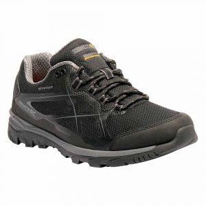 Regatta Chaussures Kota Low - Black / Granite - Taille EU 47