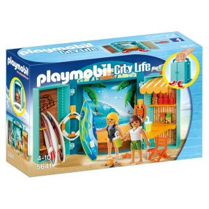 Playmobil 5641 City Life : Le shop des surfeurs