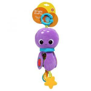 Bright Starts Poulpi la peluche Twirly Whirly Octopus Poulpi la peluche Twirly Whirly Octopus - Multicolore - Garçon et Fille