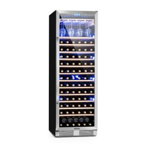 Klarstein Vinovilla - Grande cave de mise en service XXL 165 bouteilles