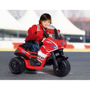 Peg Perego Moto électrique 3 roues Ducati Rider