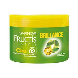 Garnier Fructis Style - Cire cheveux - brillance Fixation forte 2 extrait de bambou