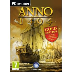 Anno 1404 Gold Edition : Le jeu + l'extension Venise [PC]