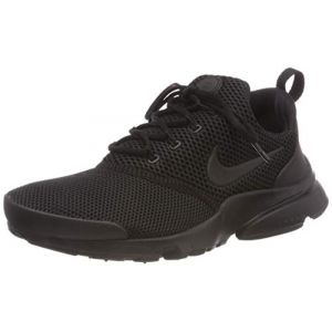 Nike Presto Fly Triple Noir Baskets/Running Enfant