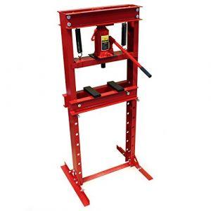 wiltec Presse hydraulique Presse Atelier Presse à cadre 20 t Presse à cremaillere