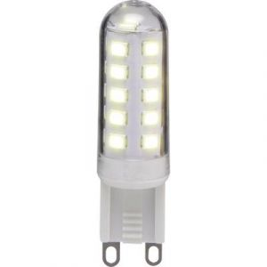 Basetech Ampoule LED G9 TG903F-16 à broches 2.9 W = 25 W blanc chaud (Ø x L) 15.50 mm x 55 mm EEC: A+ 1 pc(s)