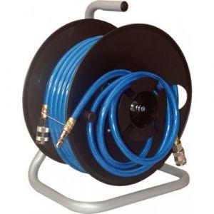 Lacme Enrouleur pneumatique manuel + 20 m de tuyau air comprimé