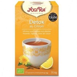 Yogi Tea Detox au Citron - Infusion ayurvédique 17 sachets