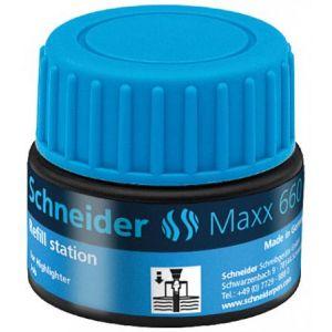 Schneider Electric 166003 - Station de recharge Maxx 660, encre bleue de surligneur