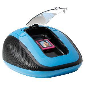 Clip Sonic BX1021 - Boombox pour lecteur audio/vidéo, iPod et iPhone