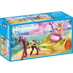Playmobil 9136 Fairies - Fée avec carrosse et licorne