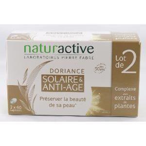 Naturactive Doriance Solaire & anti-âge - 2x60 comprimés