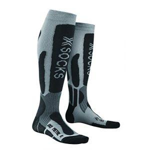 X-Socks Mtal Chaussettes Homme Argent 35-38