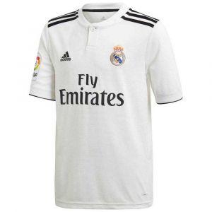 Adidas Short enfant Mini-kit domicile Real Madrid 2018/19 blanc - Taille 13 / 14 ans