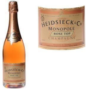 Heidsieck & Co Monopole Rose Top - Champagne brut rosé