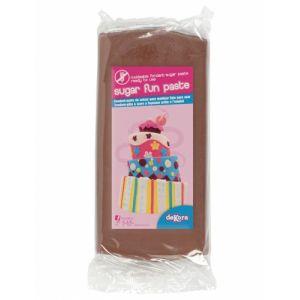 Dekora Pâte à sucre marron