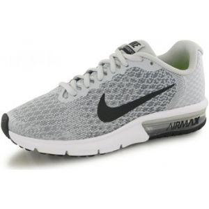 Nike Air Max Sequent 2 (GS), Chaussures de Running Compétition Homme, Gris (Pure Platinum/Black/Cool Grey/Wolf Grey 006), 40 EU