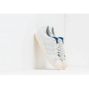 Adidas Chaussures Superstar blanc/bleu - baskets blanc - Taille 44,46,43 1/3,44 2/3