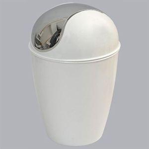 Mini-poubelle Happy pour salle de bain en plastique (1,5 L)