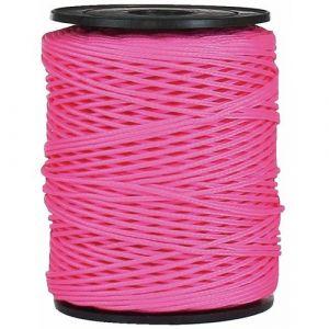 Corderie Mesnard Drisse polypropylène fluo rose - diamètre 1,5 mm - longueur 100 m