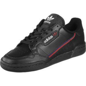 Adidas Continental 80 J, Chaussures de Fitness Mixte Enfant, Noir (Negros/Escarl/Maruni 000), 38 EU