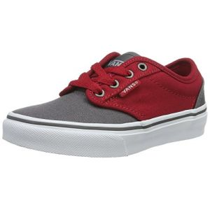 Vans Yt Atwood, Sneakers Basses garçon, Gris (2 Tone Gray/Red), 30.5 EU