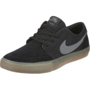Nike Chaussure de skateboard SB Solarsoft Portmore II - Noir - Taille 41 - Male