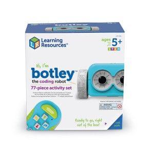 Learning Resources Premier robot de codage BOTLEY et ses 77 accessoires