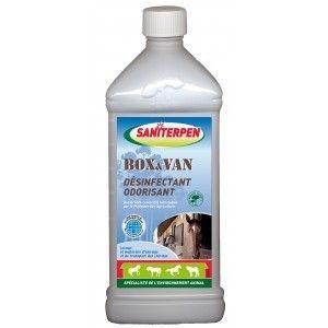 Saniterpen Box et van desinfectant odorisant 1 litre