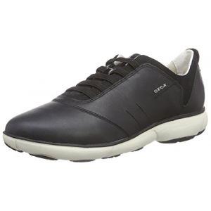 Image de Geox D Nebula C, Sneakers Basses Femme, Noir (C9999), 41 EU