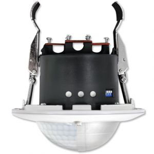 BEG Détecteur de présence télécommandable PD4-M-TRIO-DIM-FP Luxomat Faux Plafond Blanc 92735