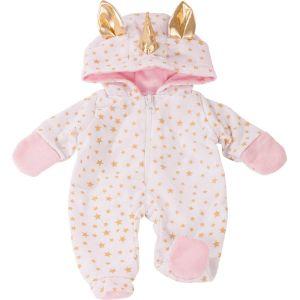 Gotz Vêtement pour poupée de 42 à 46 cm : Gigoteuse licorne