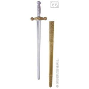 Epée de chevalier médiéval avec étui