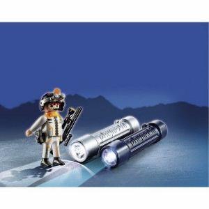 Playmobil 5290 Top Agents 2 - Lampes d'espionnage avec agent secret