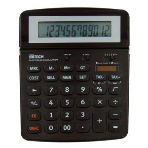 Hitech C1522BL - Calculatrice de bureau 10 chiffres