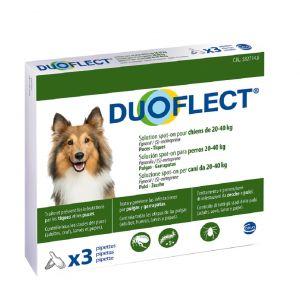 Ceva Duoflect chiens 20-40 kg 3 pipettes