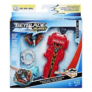 Hasbro Toupie Beyblade Burst Evolution - Toupie + Lanceur - Xcalius