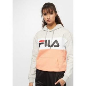FILA LORI HOODIE SWEAT - GRIS - femme - SWEAT SHIRT