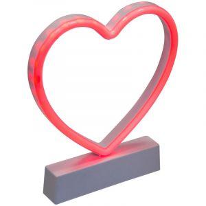 """Décoration L ineuse Led """"Coeur"""" 22cm Rouge Prix"""