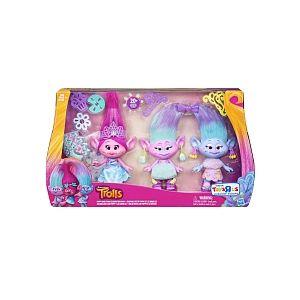 Hasbro Trolls Coffret célébration Poppy et les jumelles