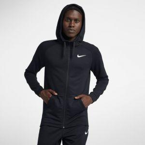 Nike Sweatà capuche de training entièrement zippé DriFIT pour Homme Noir Couleur Noir Taille 2XL