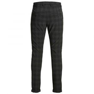 Jack & Jones Pantalons Marco Connor Akm773 Dg Check - Dark Grey - 33