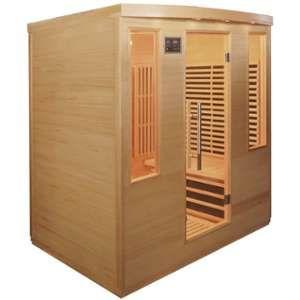 Sauna infrarouge panneaux carbone 3100W 4 places - SNÖ